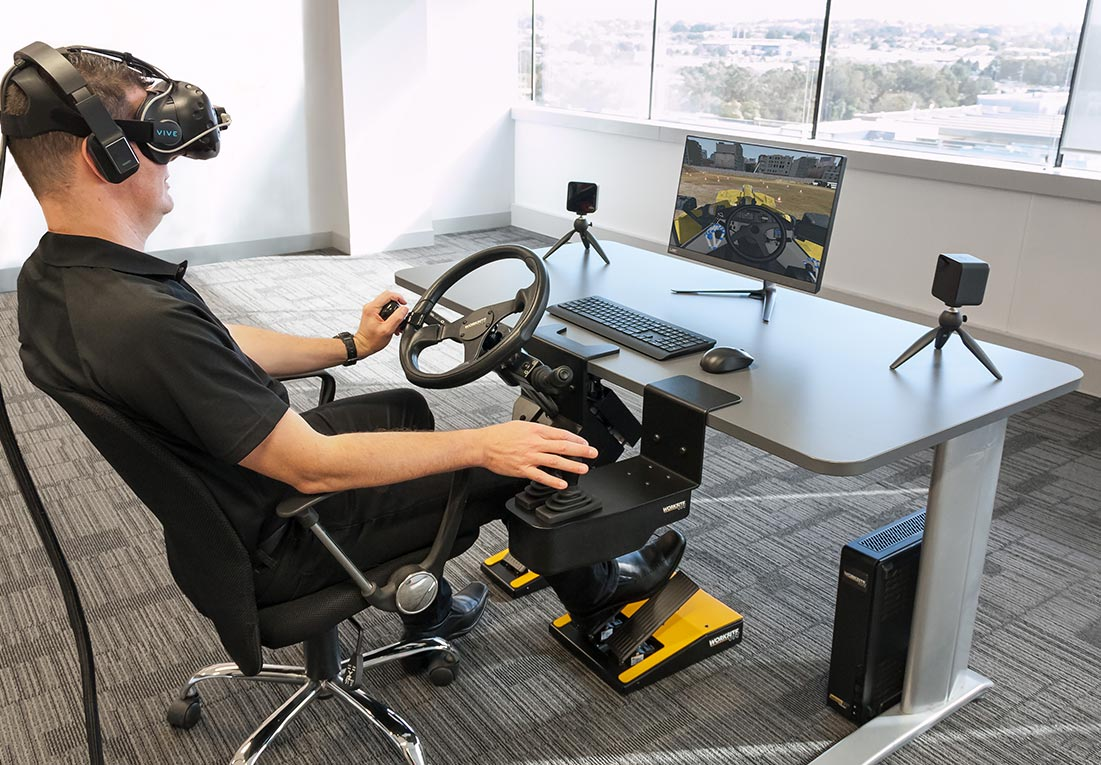WorksiteVR Simulator - Wheel Loader Training