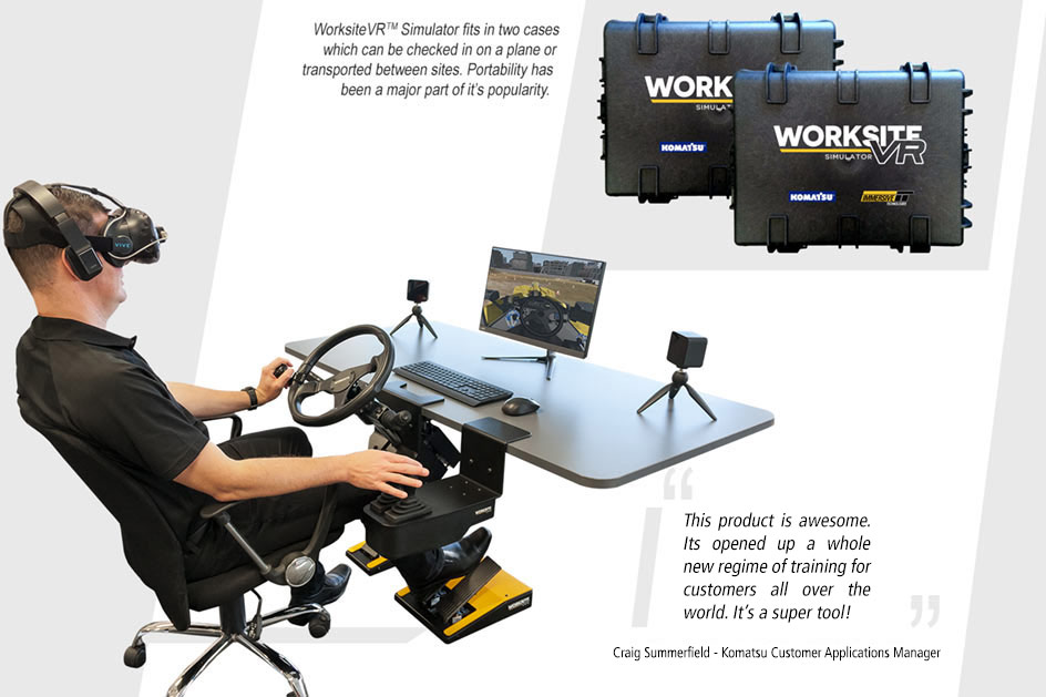 WorksiteVR™ Simulator - Powered by Immersive Technologies